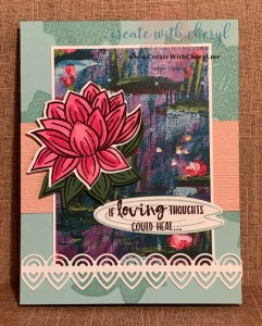 Lily Pad #createwithcheryl #lovelylilypad #handmadecards