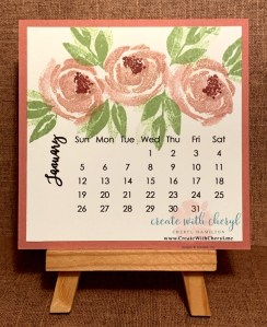2020 Calendar- Buy yours at CreateWithCheryl.me #CreateWithCheryl #2020calendars