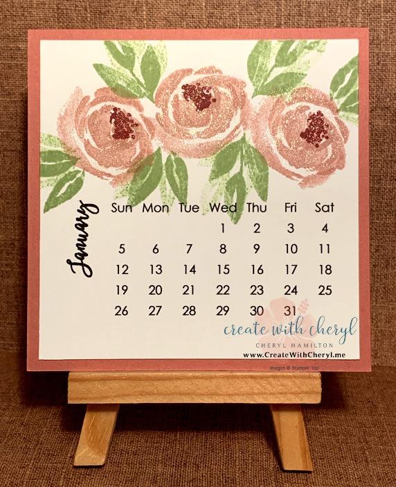 2020 Calendar- Buy yours at CreateWithCheryl.me #CreateWithCheryl #2020calendars