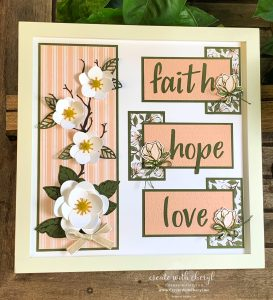 Faith Hope Love Sampler Cheryl Hamilton