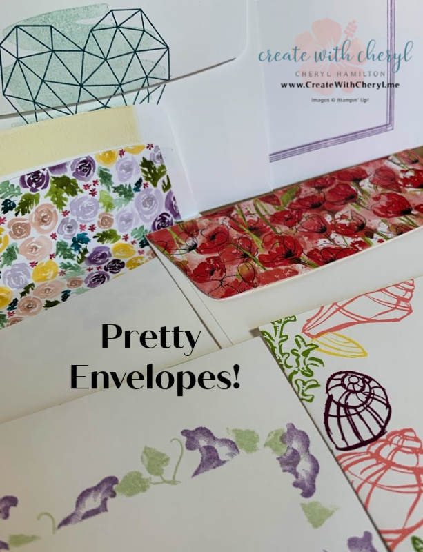 Cheryl Hamilton Ideas for Decorating your Envelopes