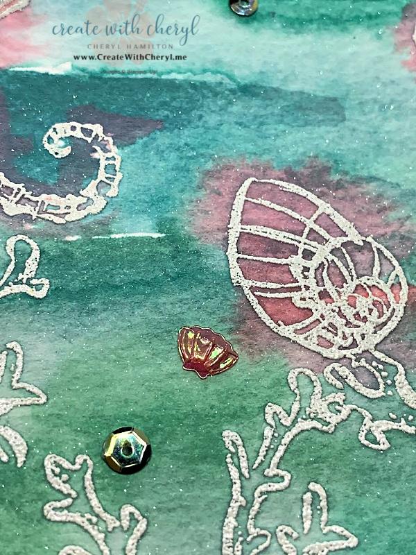 Seaside Notions Watercolor Card