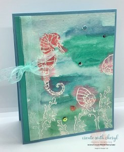 Seaside Notions Watercolor Card