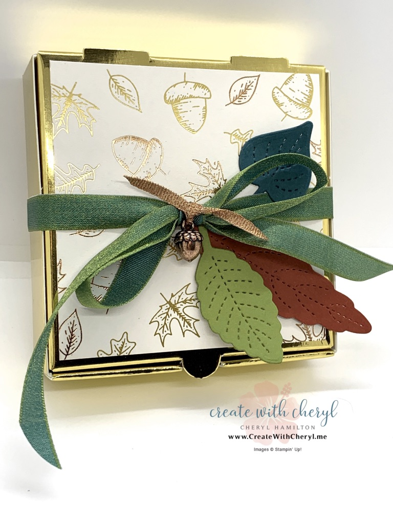 Gilded Autumn Gift Box