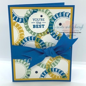 August 2020 Paper Pumpkin Card