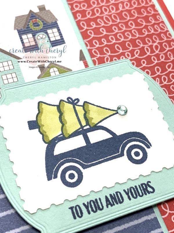 Festive Post Card