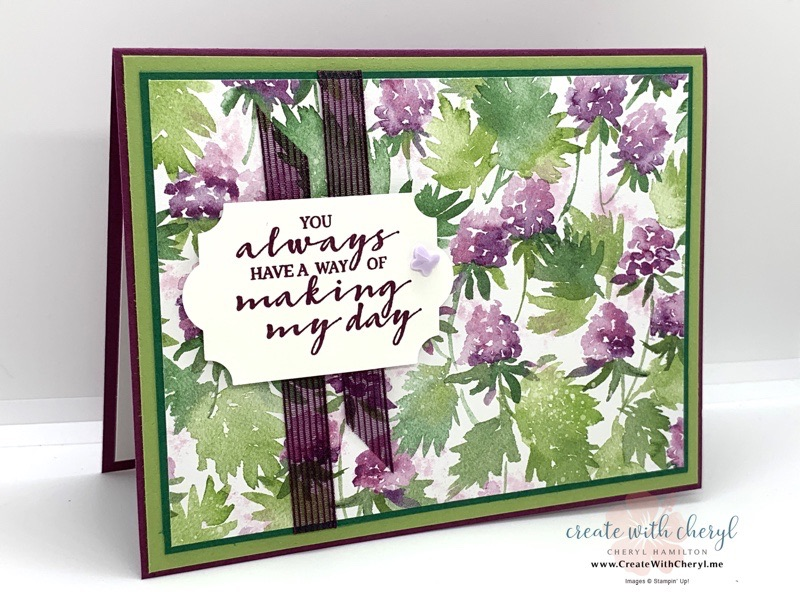 Berry Blessings Sale-a-Bration Card