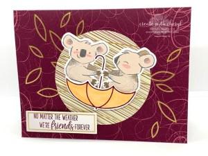 Beary Comforting Paper Pumpkin