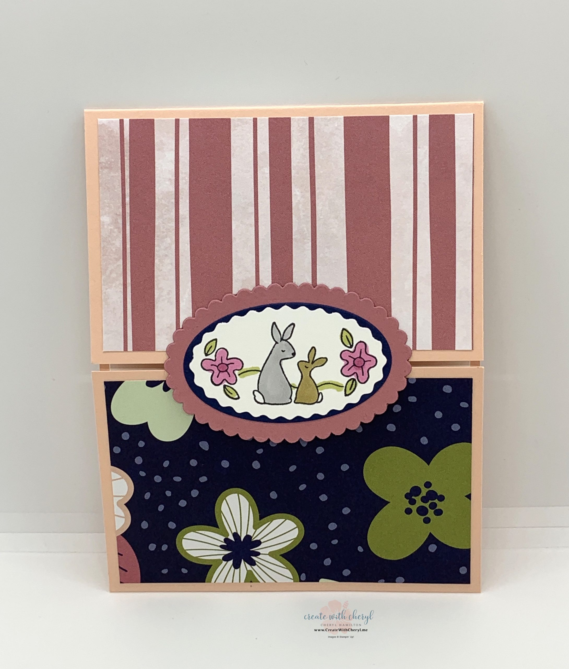 Oval Occasions With Paper Blooms DSP