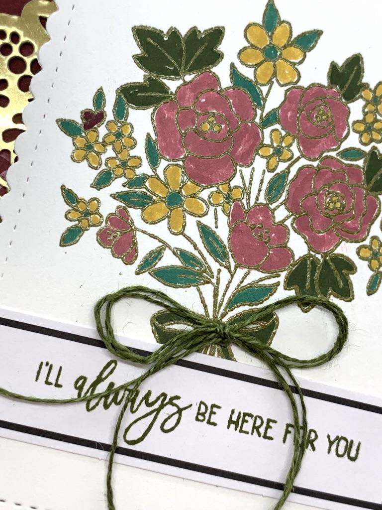 February 2021 Paper Pumpkin Bouquet of Hope