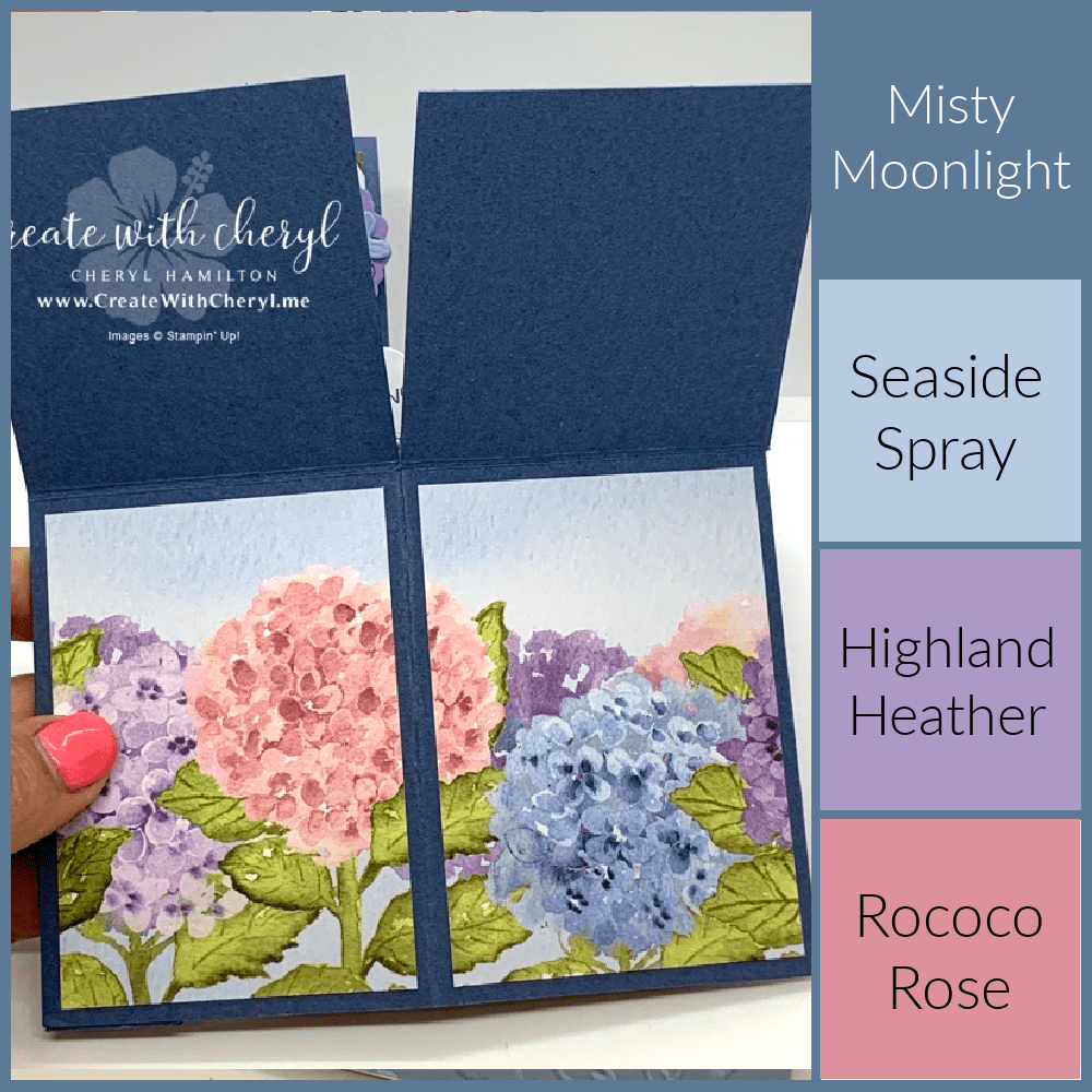 Inspired by Color- Hydrangea Hill