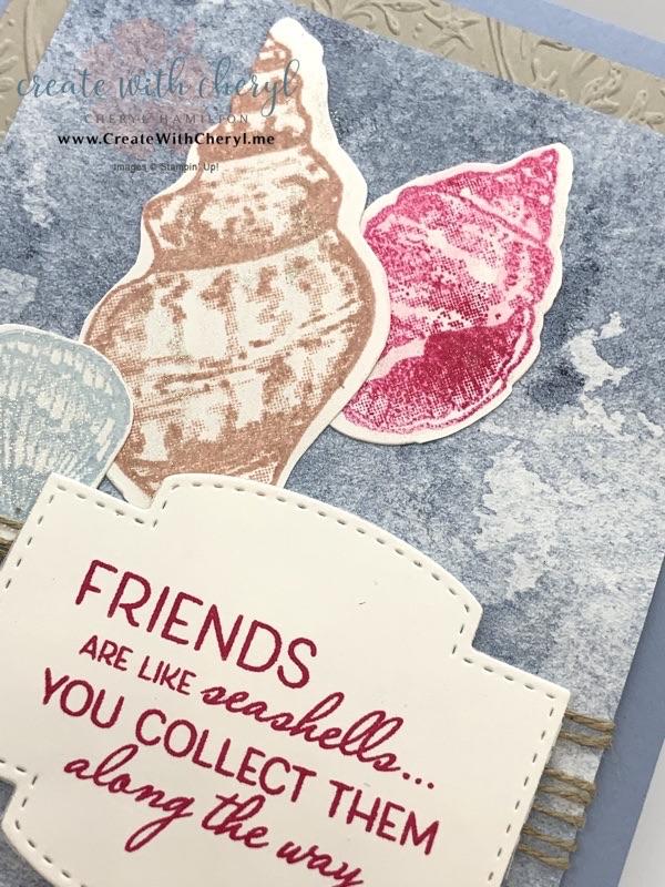 Friends are Like Seashells #cherylhamilton