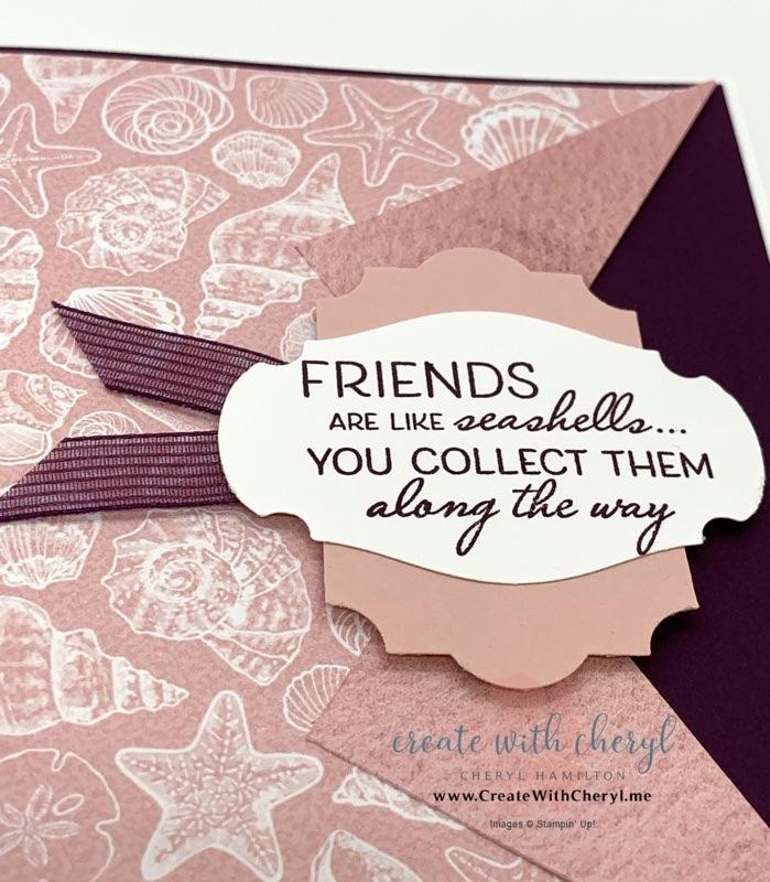 Collar Fold Card #simplestamping