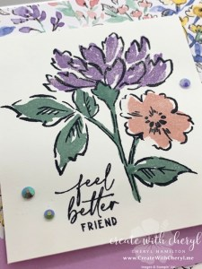 Hand-Penned Card #simplestamping