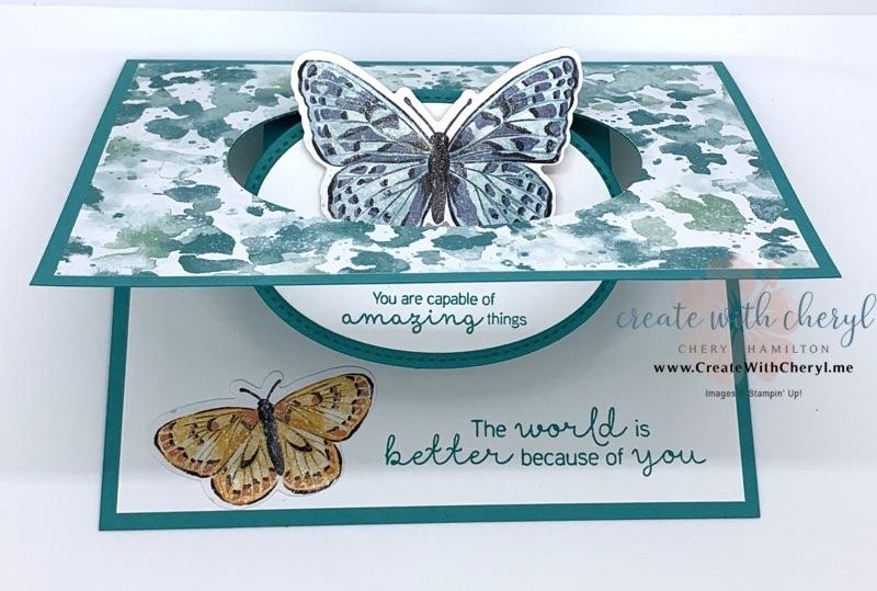 Butterfly Fun Fold Card