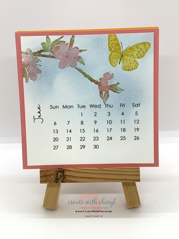 Butterfly Wishes DIY Calendar