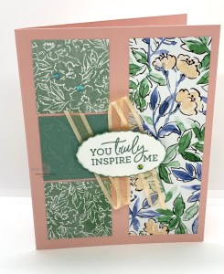 Hand-Penned DSP Floral Card