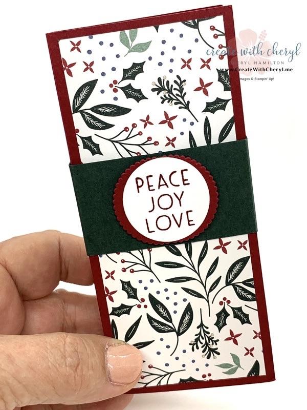 Tidings of Christmas- Christmas Tag Holder