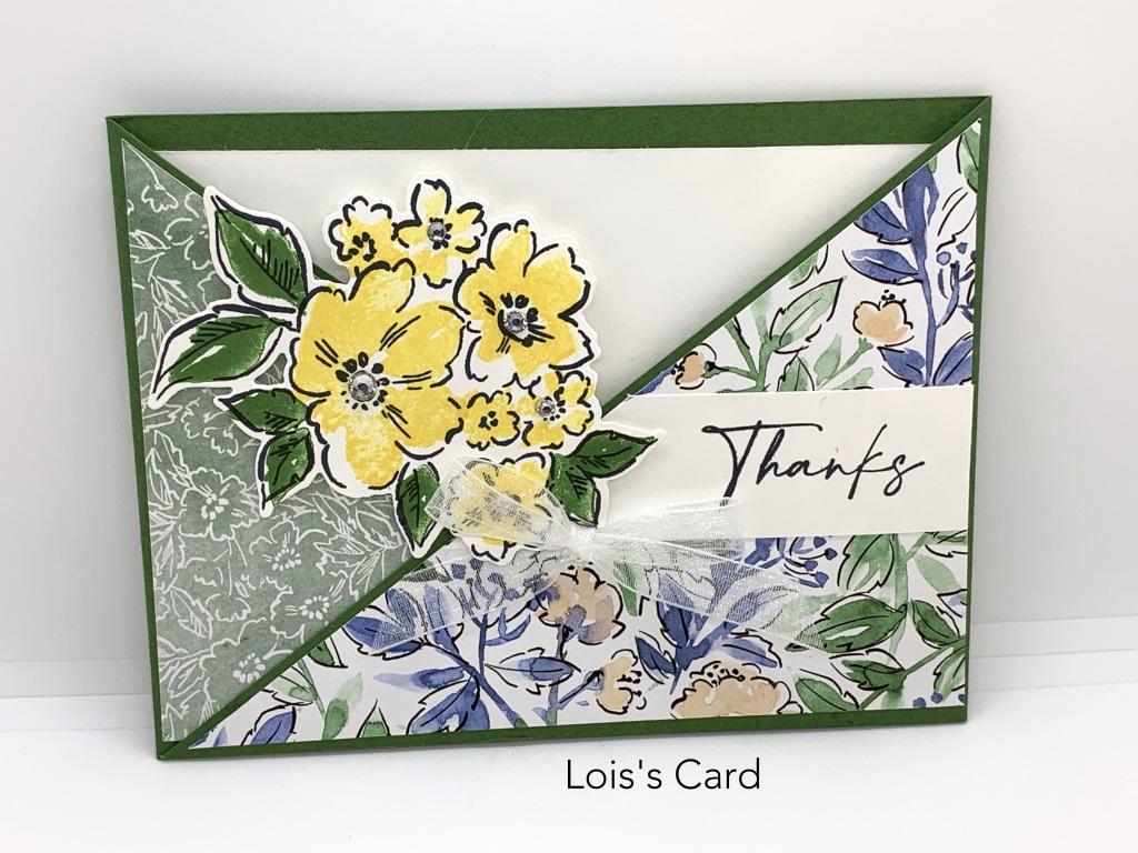 Hand-Penned Fun Fold Card