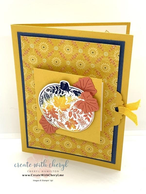 Pull Tab Card Using Pretty Pumpkins Bundle