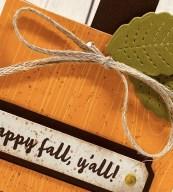 Fun Fold Friday…Fall Treat!