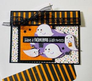 Fa(BOO)lous Halloween Card
