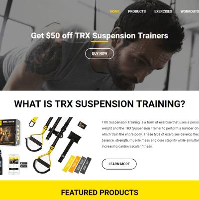 Suspension Exercise Website