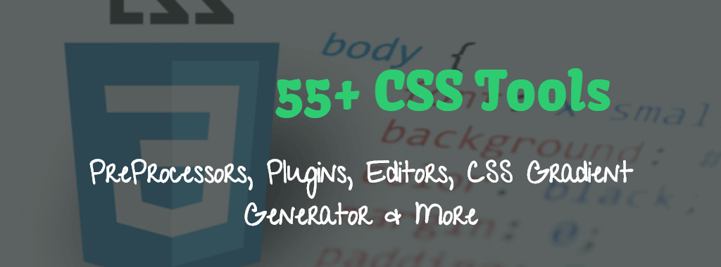 50+ CSS tools for web designers