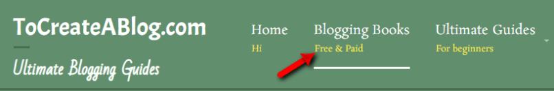 View WordPress menu item description on on your site