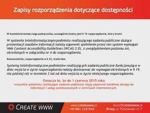 Prezentacja WCAG 2.0