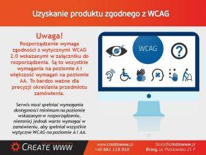 Dostępność serwisów internetowych w administracji publicznej