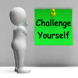 Challenge Yourself Note Means Be Determined And Motivated by Stuart Miles