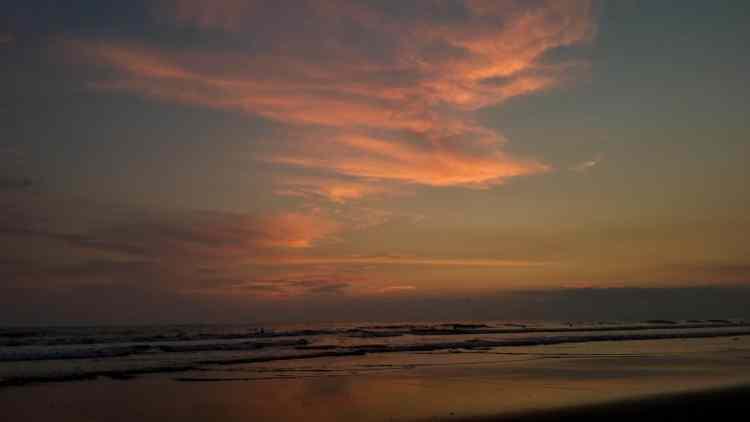 Sunset in Jaco Costa Rica