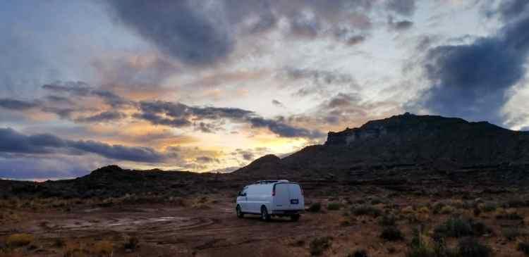 Camping on BLM land in Utah