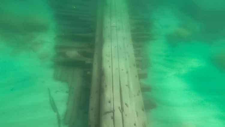 Shipwreck in Lake Superior
