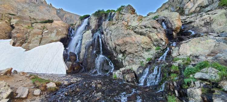 Timberline Falls at Rocky Mountain National Park