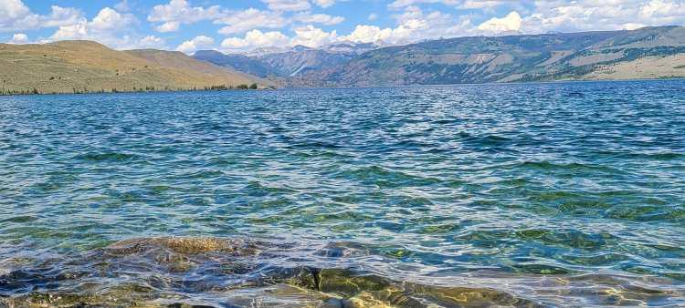 Fremont Lake Wind River Range Wyoming