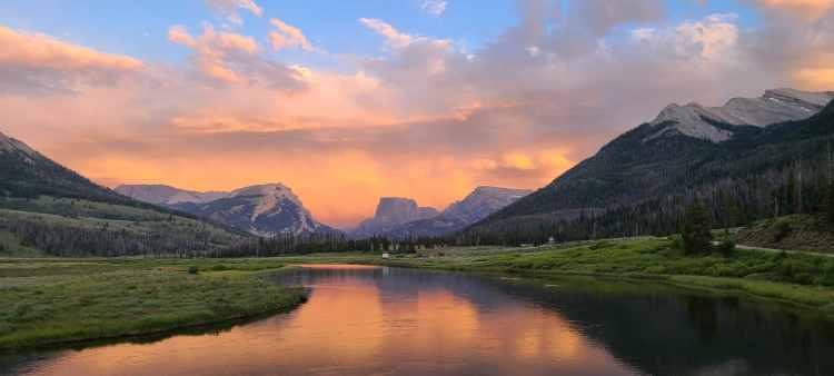 Squaretop Mountain Wind River Range Wyoming
