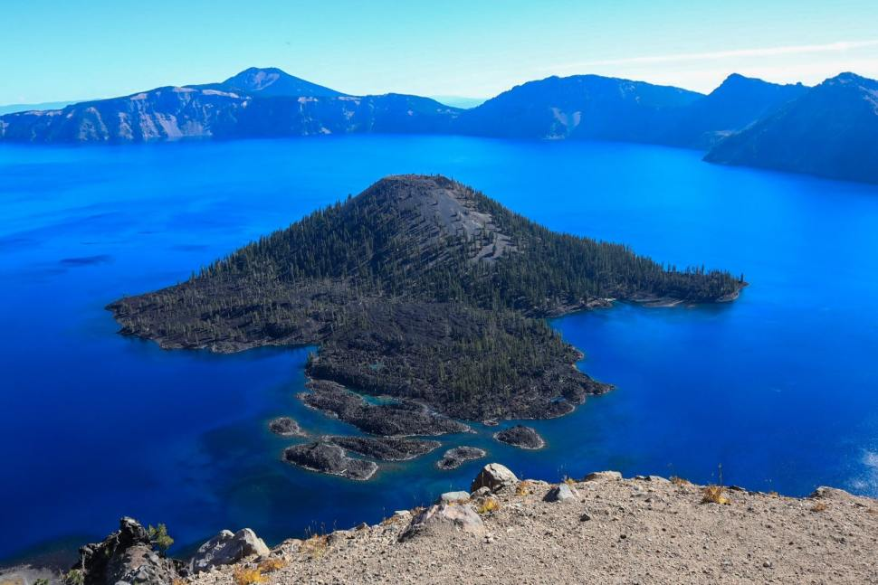 Wizard Island Crater Lake National Park