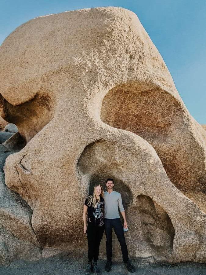 Skull Rock Joshua Tree National Park