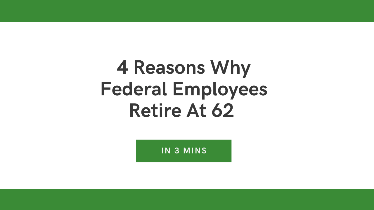 Retirement Age For Federal Employees