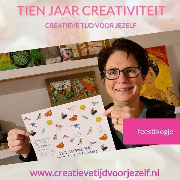jubileum tien jaar creatief