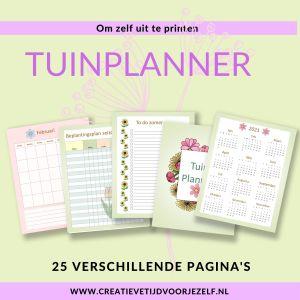 tuinplanner printable