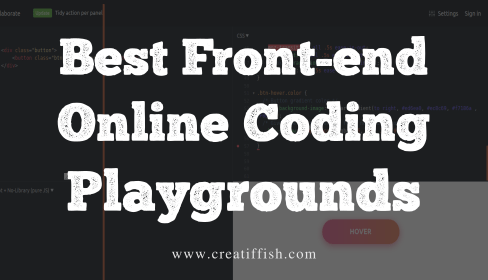 best online front end coding playgrounds