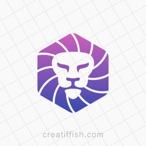 Lion finance technology logo
