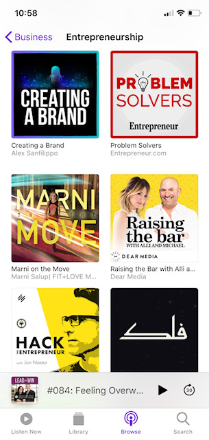 Creating a brand the top 20 entrepreneurship podcast