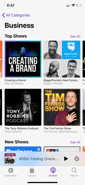 Creating a brand the top 20 entrepreneurship podcast on apple
