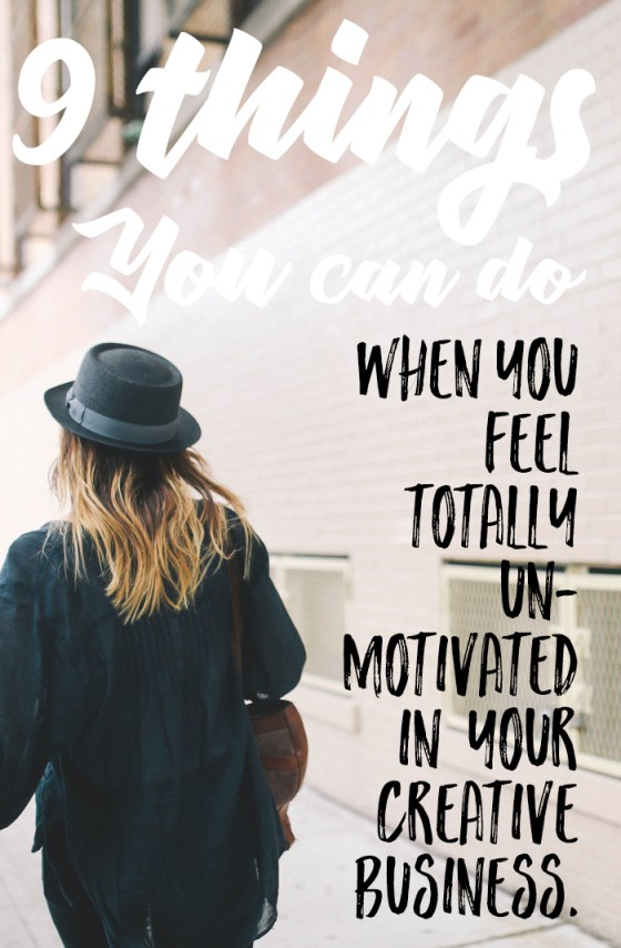 9 Things You Can Do When You Feel Totally Unmotivated