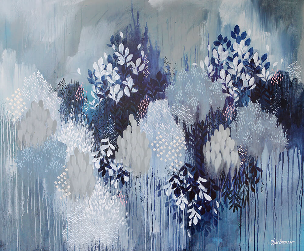 Learn how Artist Clair Bremner is Making Passive Income With Her Art: Like Night and Day by Clair Bremner