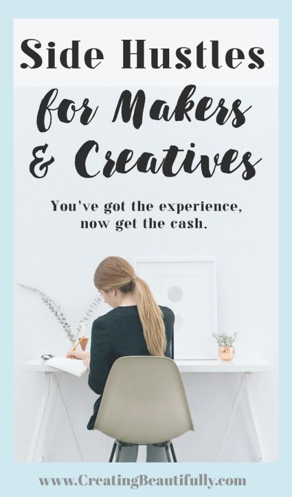 Side Hustles for Makers & Creatives